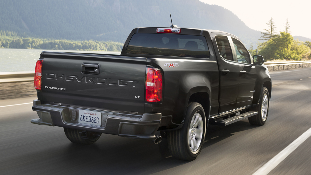 GM suspending midsize truck production due to chip shortage