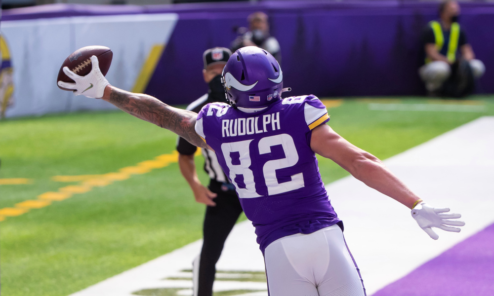 Kyle Rudolph signs Giants contract after surgery snag