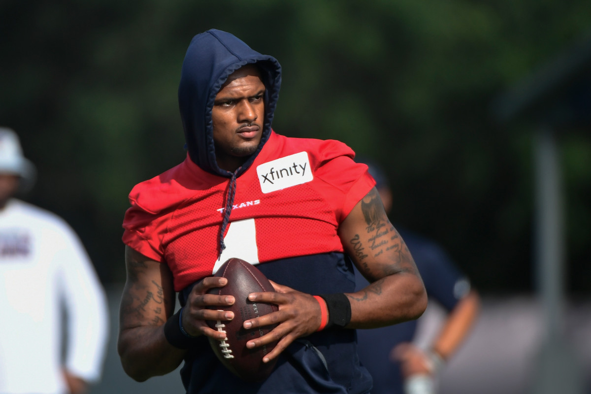 Deshaun Watson frustrated with media attention amid lawsuits
