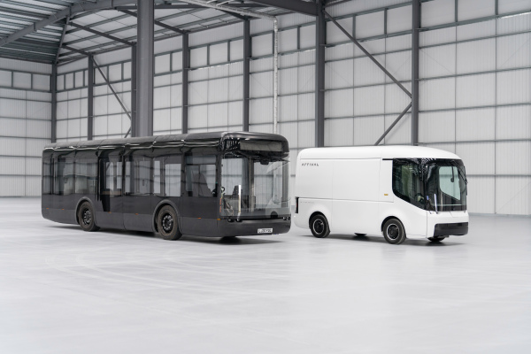 Arrival is on track to begin production of its electric bus and van next year – TechCrunch