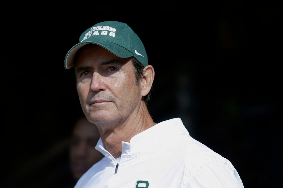 NCAA not punishing Baylor coach Art Briles for sexual assault allegations