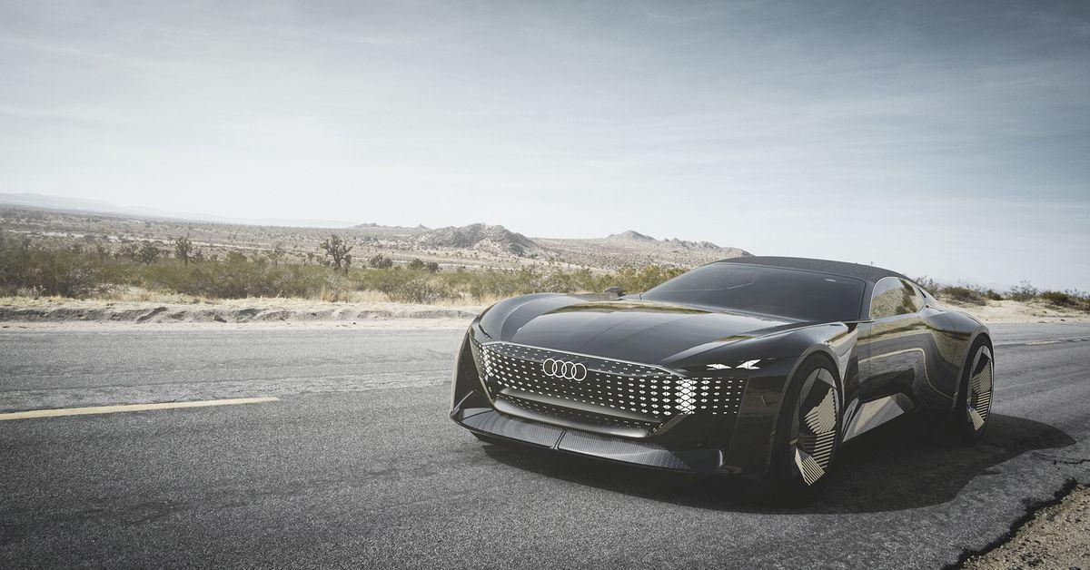 Audi's new autonomous concept car is also sort of a Transformer