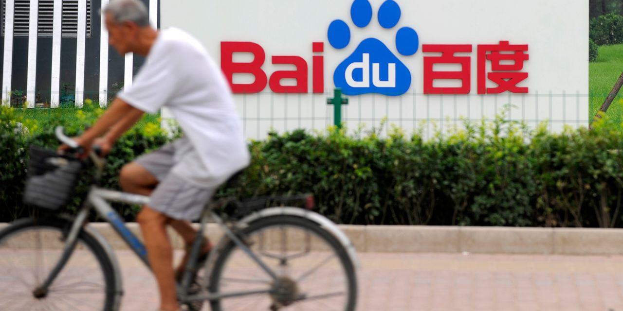 Baidu Earnings Beat Expectations. Its Stock Is Dropping.