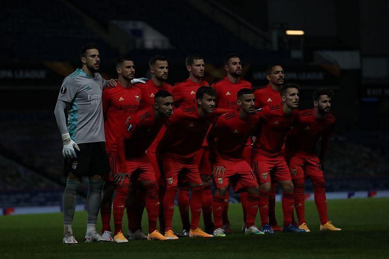 Benfica will host Arouca on Saturday