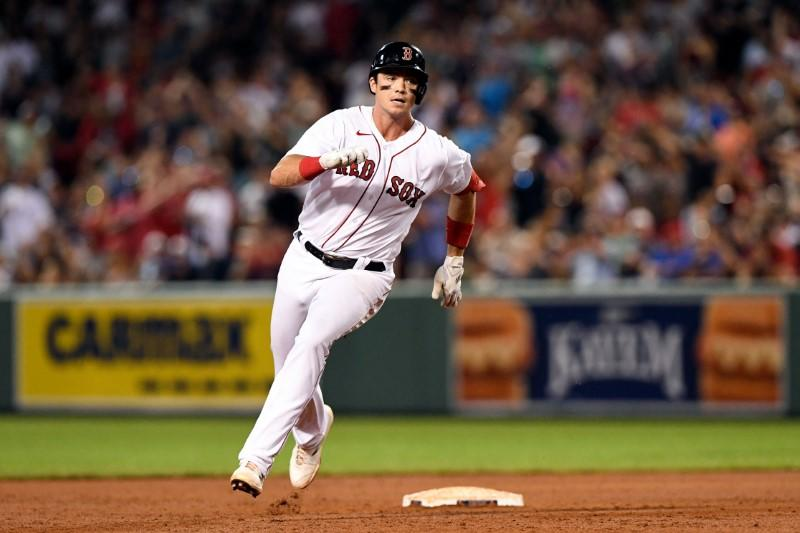 Bobby Dalbec's 5 RBIs help Red Sox to 20-8 win