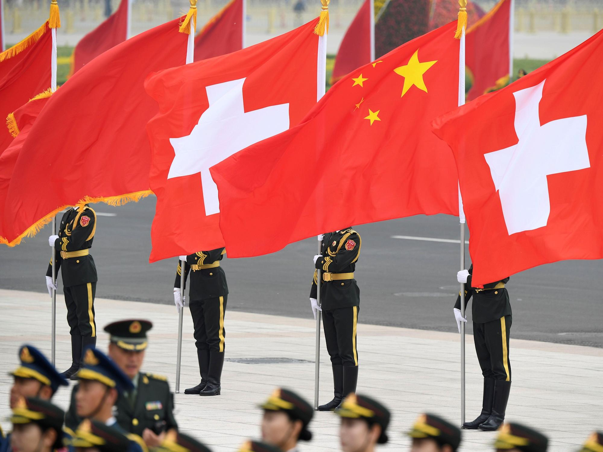 Chinese state media cited a Swiss biologist who said the US interfered with the WHO's COVID-19 investigations. The Swiss embassy says the biologist likely doesn't exist.