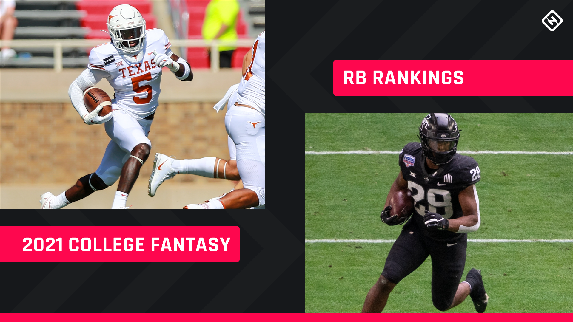 College Fantasy Football RB Rankings 2021: Top running backs, sleepers to know