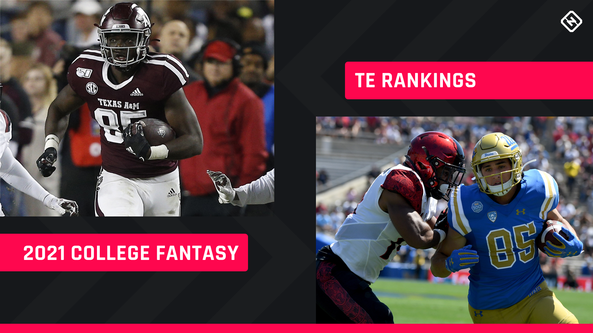 College Fantasy Football TE Rankings 2021: Top tight ends, sleepers to know