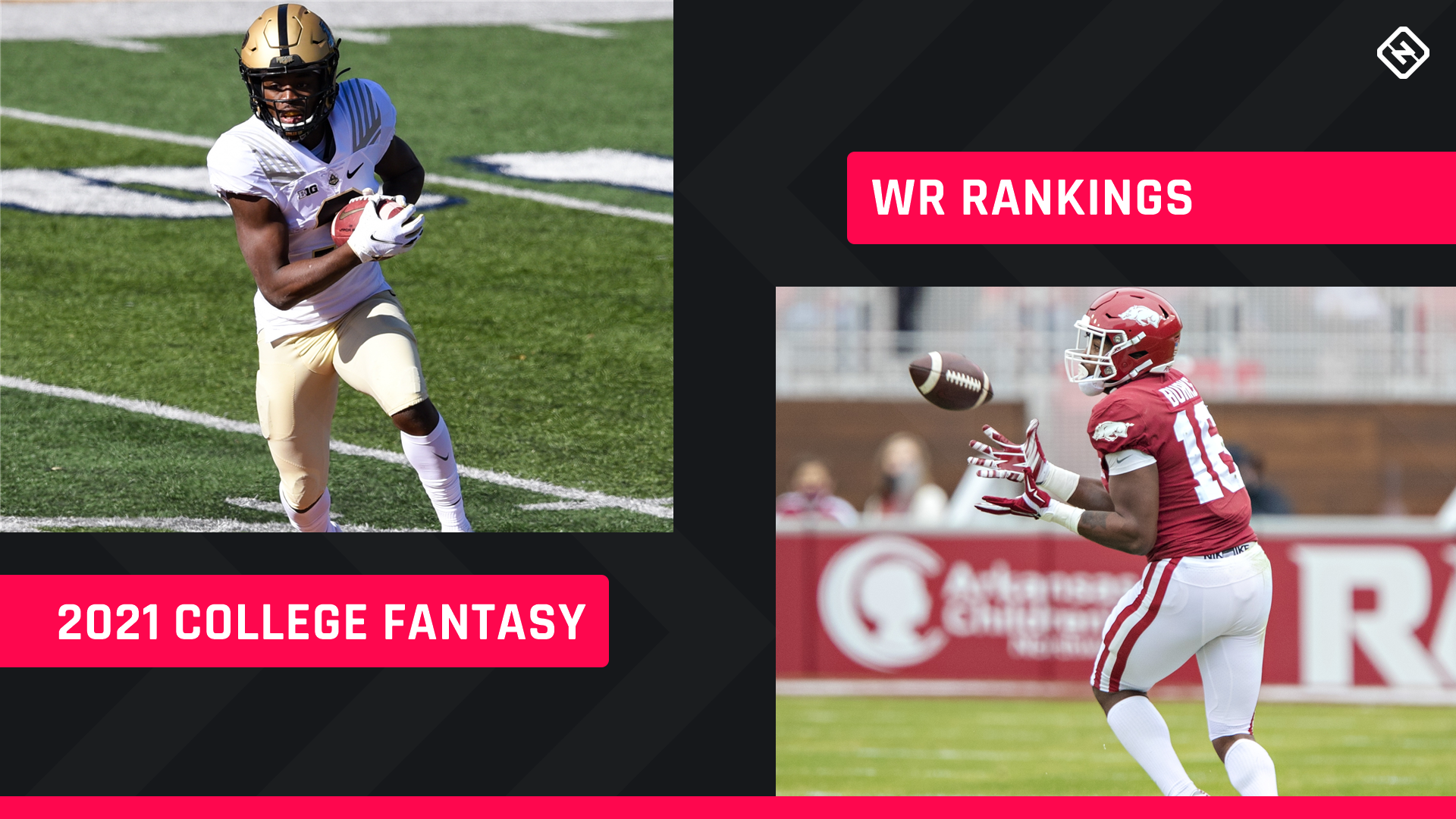 College Fantasy Football WR Rankings 2021: Top wide receivers, sleepers to know
