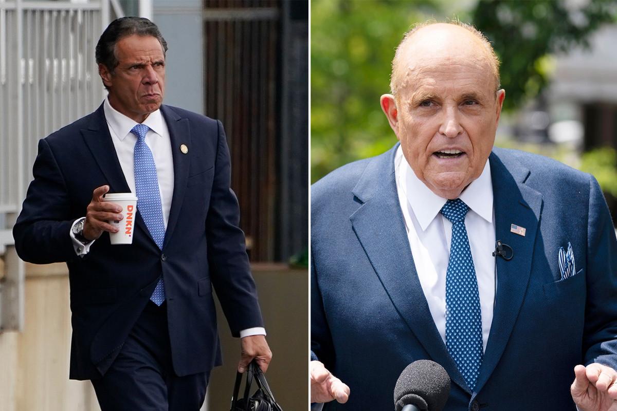 Ex-NYC mayor Rudy Giuliani says Andrew Cuomo will 'resurrect himself' after resignation