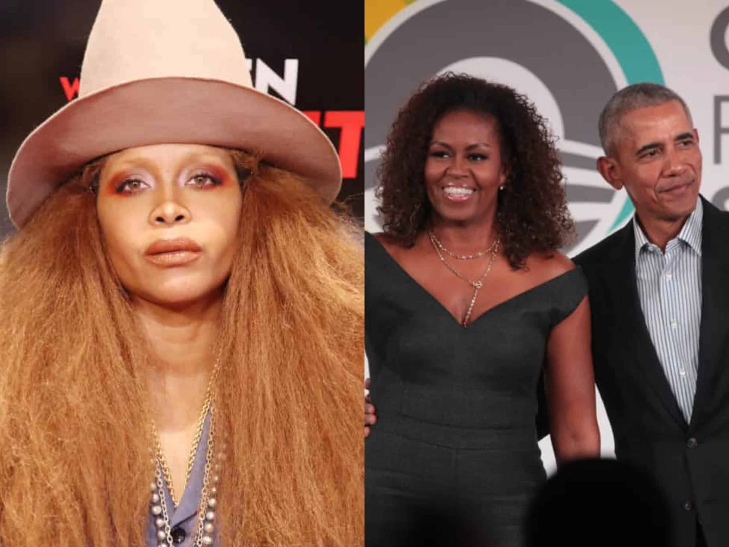 Erykah Badu Issues An Apology To The Obamas For Being A 'Terrible Guest' Following Recent Event