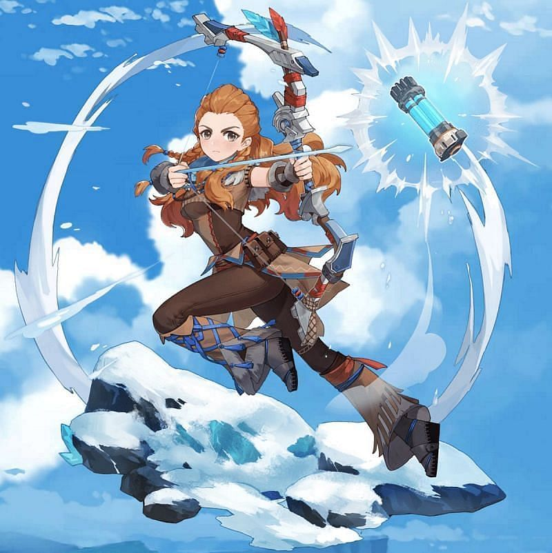 Aloy is going to come out soon, so some players want to know what materials they need for her (Image via Sportskeeda)