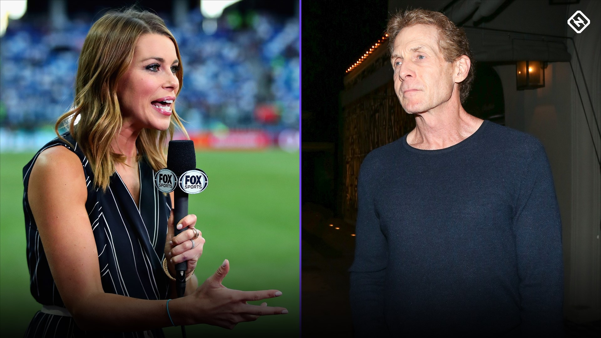 FS1's Jenny Taft calls out Skip Bayless for criticism of Cowboys coach Mike McCarthy's physical appearance