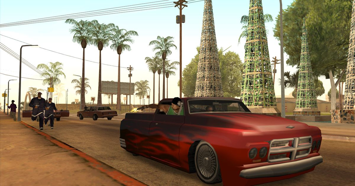 Grand Theft Auto 3, Vice City, and San Andreas remasters reportedly in development