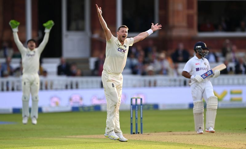 England pacer Ollie Robinson. Pic: Getty Images