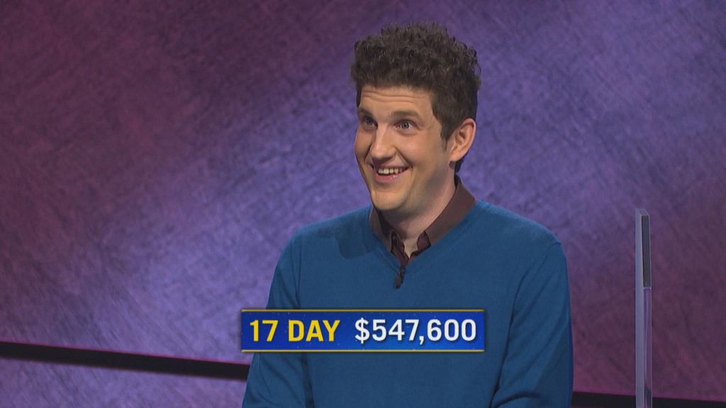 Matt Amodio becomes third-highest 'Jeopardy!' winner
