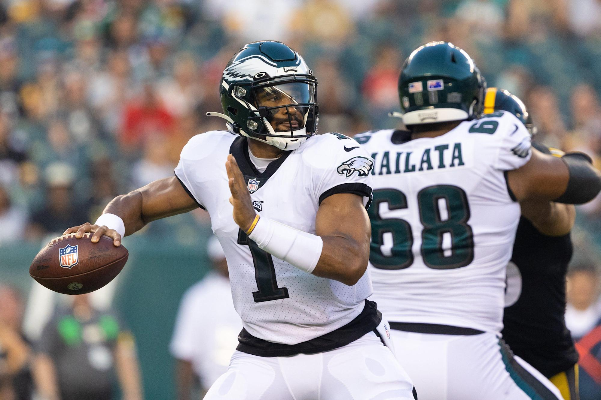Jalen Hurts nondescript in start as Eagles drop first preseason game to Steelers