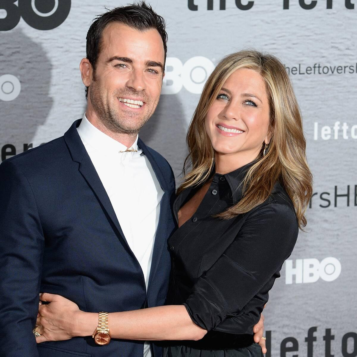 Jennifer Aniston Shares Shirtless Photo of Ex Justin Theroux in Birthday Tribute