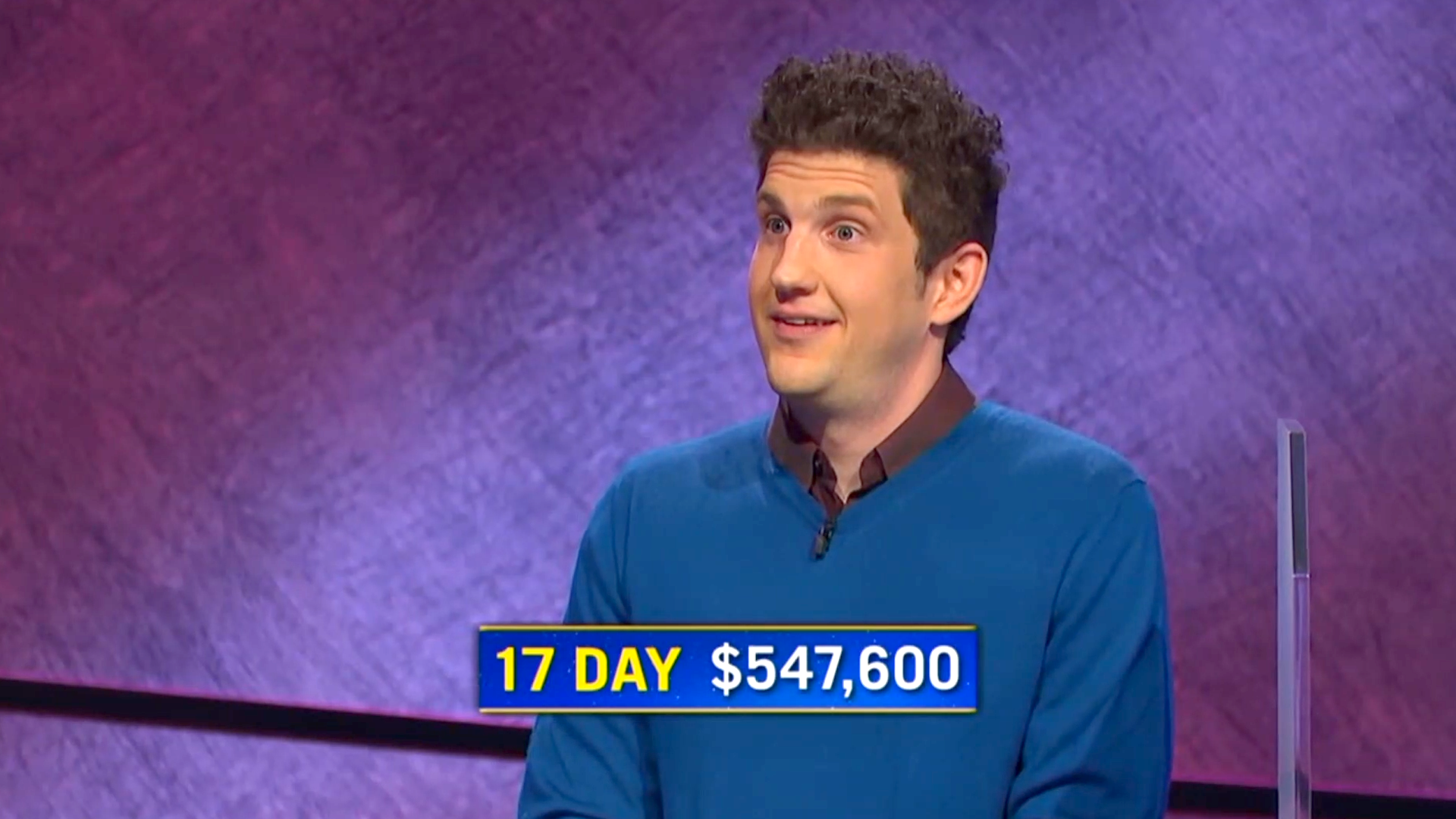 'Jeopardy!' champion now third-highest winner in the history