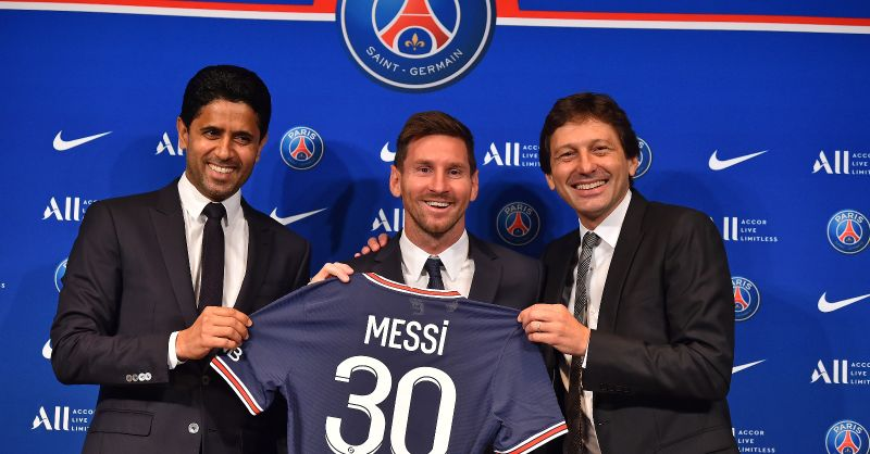 Lionel Messi signs for Paris Saint-Germain with two-year contract in place