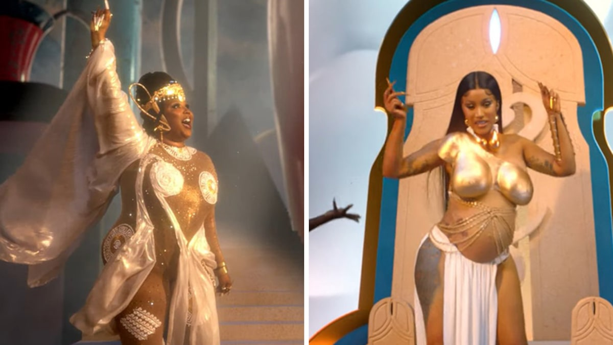 Lizzo and Cardi B Take on All Those 'Rumors' About Them Like Goddesses in New Music Video