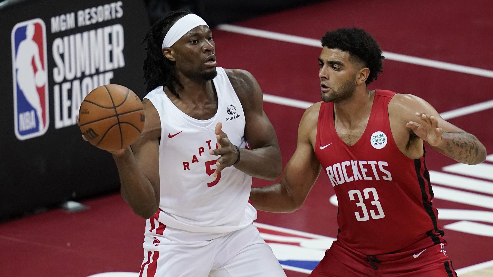 Raptors shine in Summer League win vs. Rockets