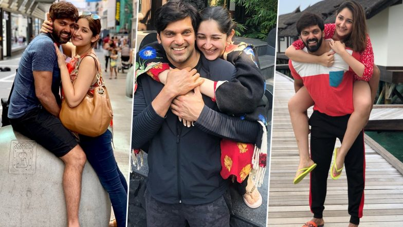 Sayyeshaa Bithday Special: 5 Pictures of the Beautiful Actress With Her Hubby Arya That Prove They Are Made for Each Other