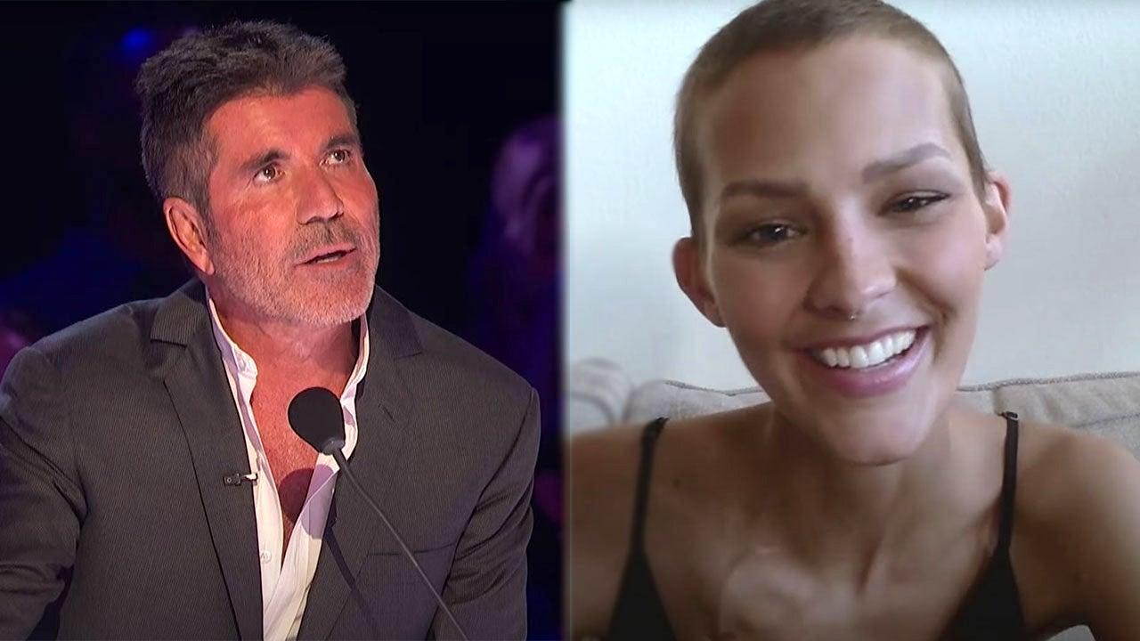 Simon Cowell breaks down as cancer survivor Nightbirde makes surprise appearance on 'AGT'