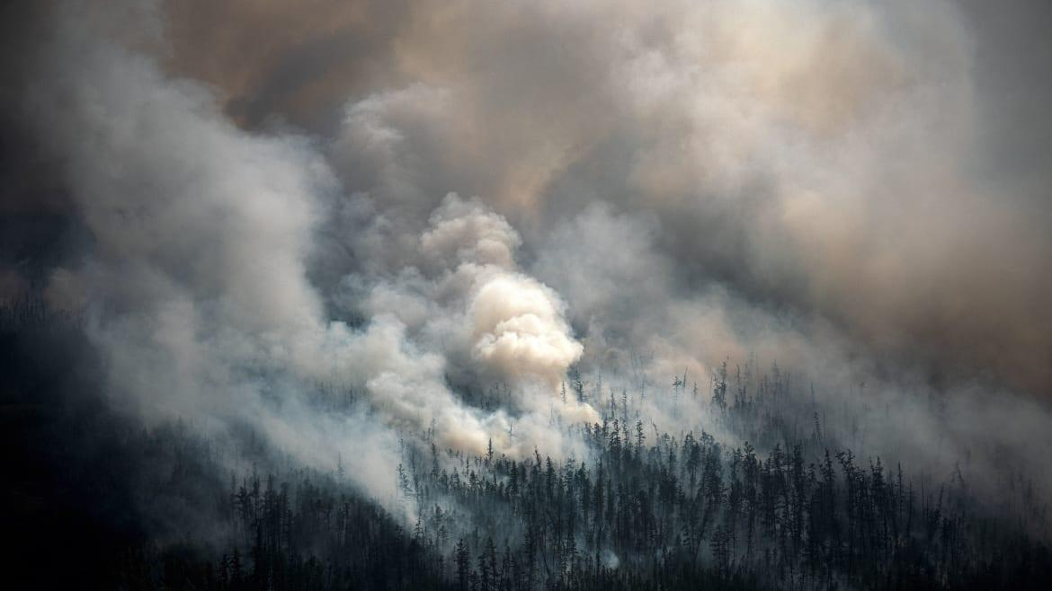 The World's Biggest Fires May Reach Moscow Thanks to Putin