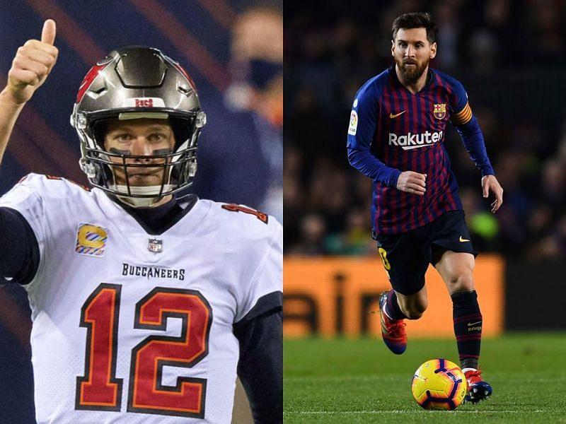 Tom Brady and Lionel Messi
