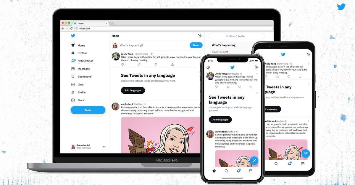 Twitter has switched over to its Chirp font