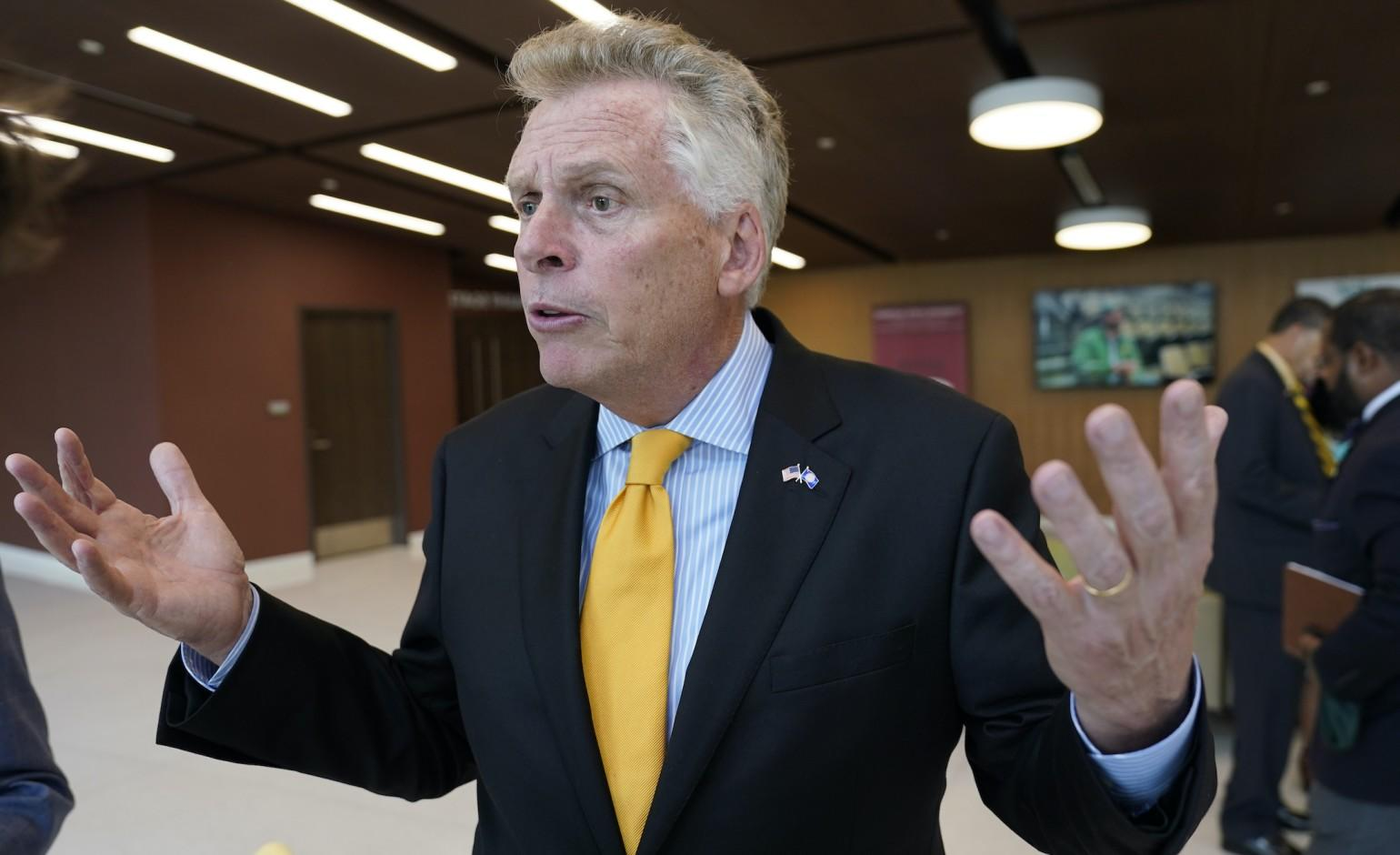 Virginia poll shows McAuliffe up over Youngkin but comes with warning signs