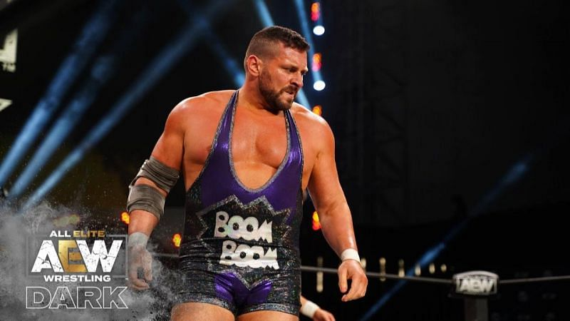 Colt Cabana has been part of The Dark Order for most of his AEW run.