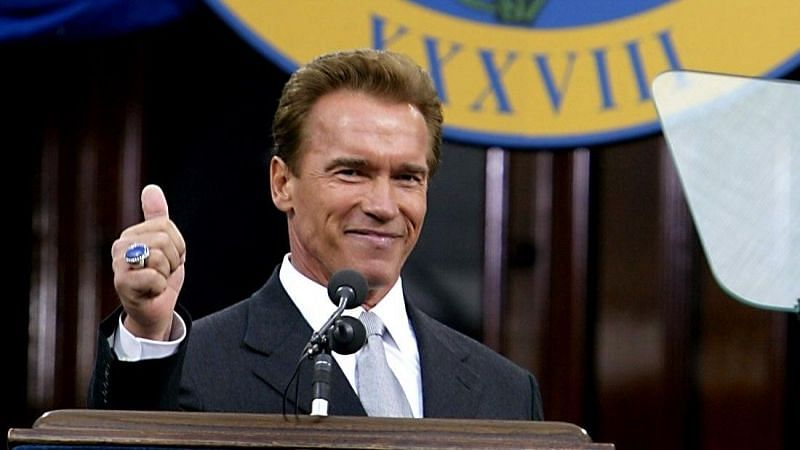 Actor and politician Arnold Schwarzenegger (Image via Getty Images)
