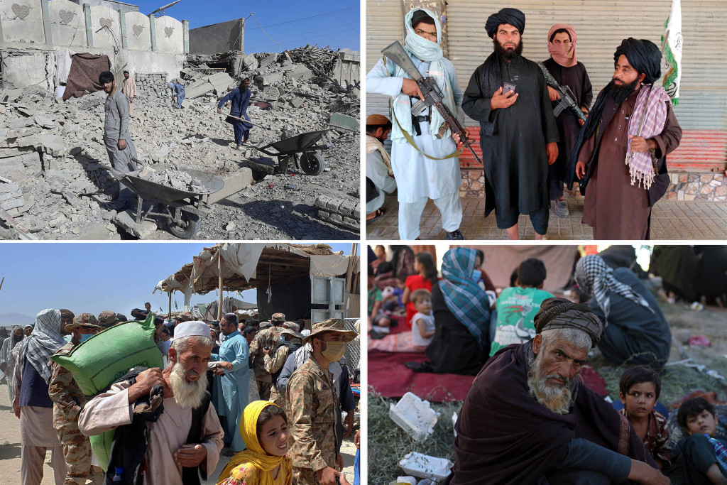 Taliban capture three more provincial capitals in Afghanistan