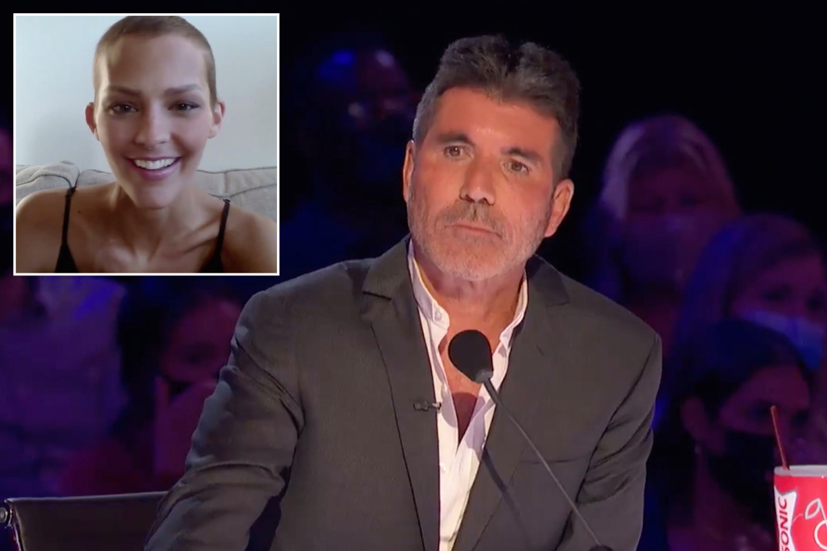 Simon Cowell fights back tears as Nightbirde returns to 'AGT'