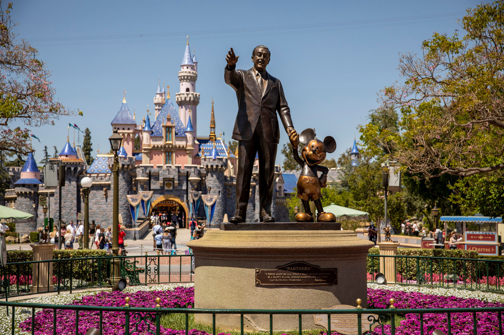 Disney's theme parks are profitable again as tourists return in droves