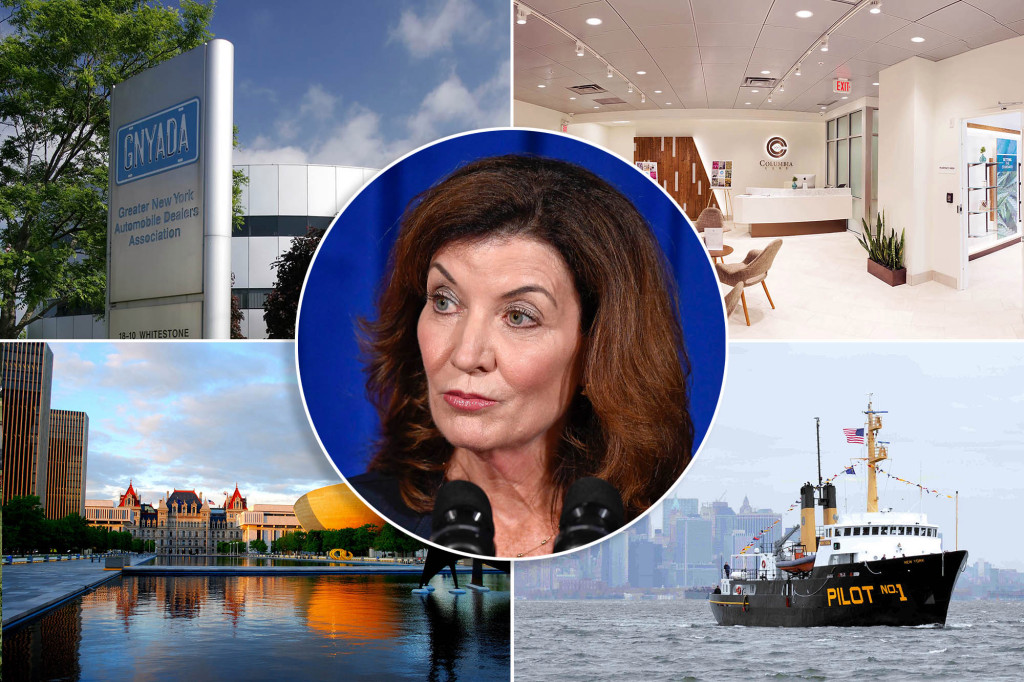 Lobbyists are already moving on incoming Gov. Kathy Hochul