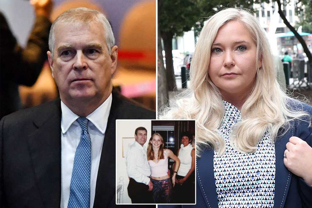 First hearing set in Virginia Giuffre suit against Prince Andrew