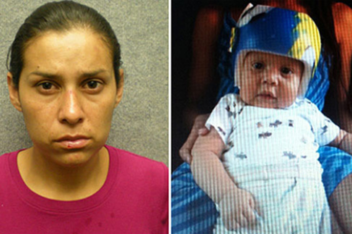 California mom convicted for shoving death of infant son